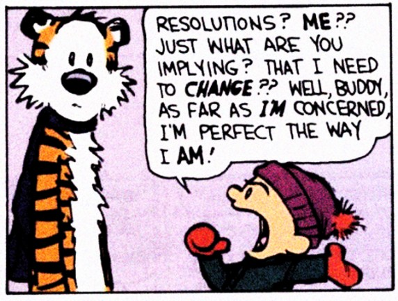 © Calvin and Hobbes